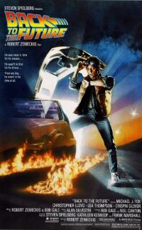 The poster for Back to the Future