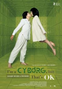 The poster for I'm a Cyborg But That's OK