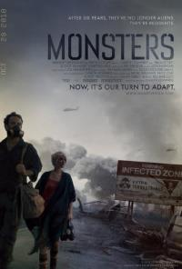 The poster for Monsters