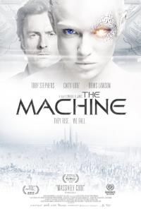 The poster for The Machine